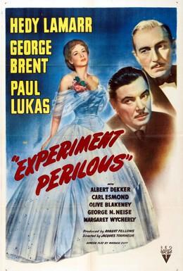 Постер фильма Рискованный эксперимент (1944)