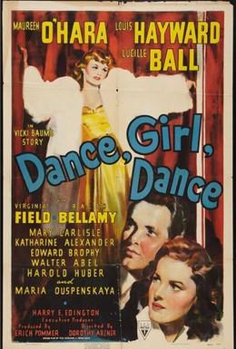 Постер фильма Танцуй, девочка, танцуй (1940)