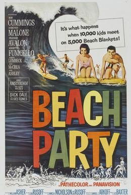 Постер фильма Пляжные тусовщики (1963)