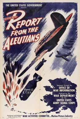 Постер фильма Сообщение с Алеут (1943)