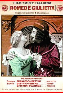 Постер фильма Ромео и Джульетта (1912)