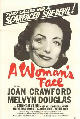 Постер фильма Лицо женщины (1938)