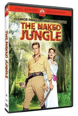 Постер фильма Обнаженные джунгли (1954)