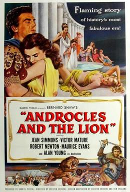 Постер фильма Андрокл и лев (1952)