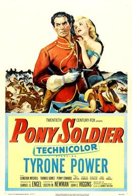 Постер фильма Солдат-пони (1952)