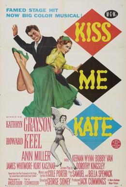 Постер фильма Поцелуй меня Кэт (1953)