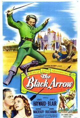 Постер фильма Черная стрела (1948)