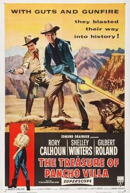 Постер фильма Золото Панчо Вильи (1955)