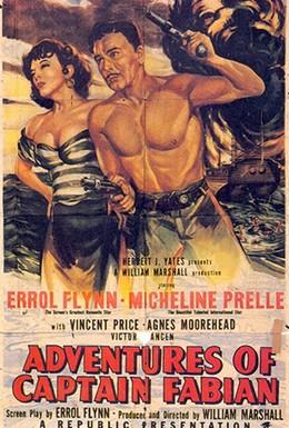 Постер фильма Капитан Фабиан (1951)