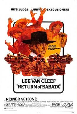 Постер фильма Возвращение Сабаты (1971)