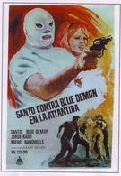 Санто против Синего демона в Атлантиде (1970)
