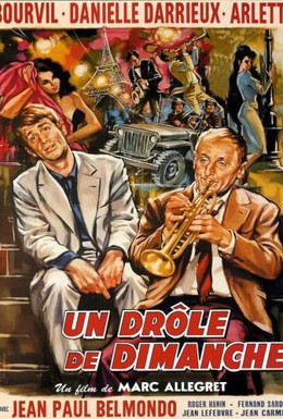 Постер фильма Странное воскресенье (1958)