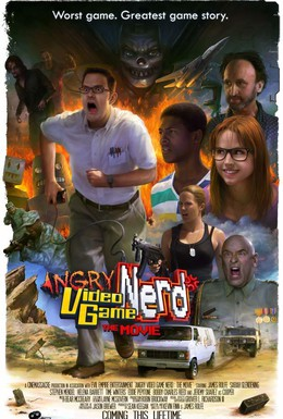 Постер фильма Злостный видеоигровой задрот: Кино (2014)