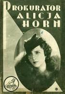 Прокурор Алиция Хорн (1933)