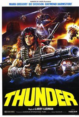 Постер фильма Гром (1983)