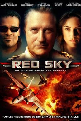 Постер фильма Красное небо (2014)