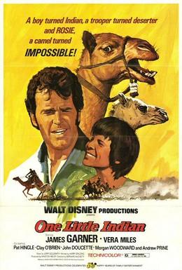 Постер фильма Один маленький индеец (1973)
