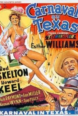 Постер фильма Карнавал в Техасе (1951)