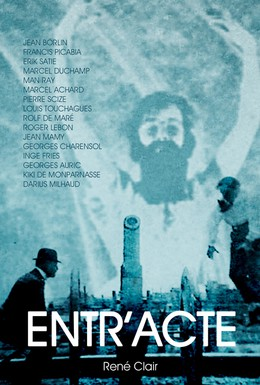 Постер фильма Антракт (1924)