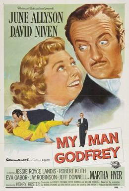 Постер фильма Мой дворецкий Годфри (1957)