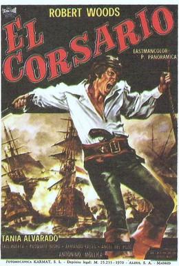 Постер фильма Корсар (1970)