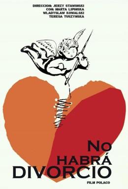 Постер фильма Разводов не будет (1964)