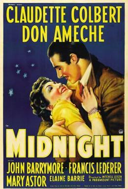 Постер фильма Полночь. Сердцу не прикажешь (1939)