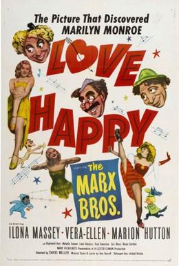 Постер фильма Счастливая любовь (1949)