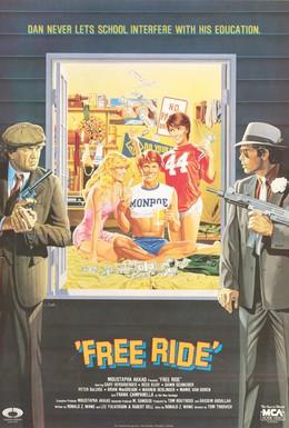 Постер фильма Опасная поездка (1986)