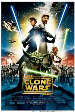 Постер фильма Звездные войны: Войны клонов (2008)