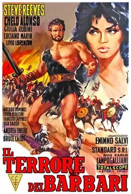 Постер фильма Ужас варваров (1959)