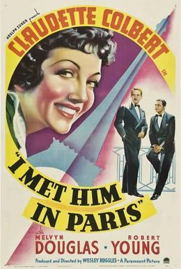 Постер фильма Я встретила его в Париже (1937)