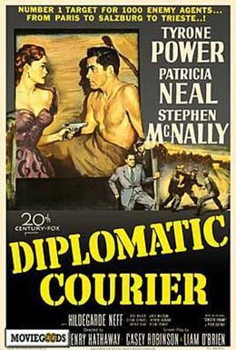 Постер фильма Дипкурьер (1952)