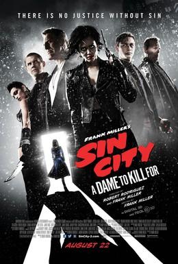 Постер фильма Город грехов 2: Женщина, ради которой стоит убивать (2014)