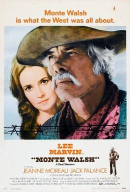 Постер фильма Монти Уолш (1970)