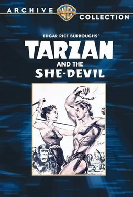 Постер фильма Тарзан и дьяволица (1953)
