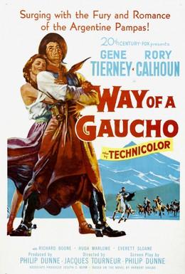 Постер фильма Путь Гаучо (1952)