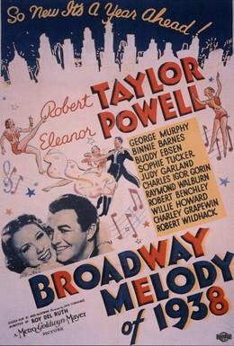 Постер фильма Мелодия Бродвея 1938-го года (1937)
