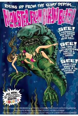 Постер фильма Монстр с пляжа бикини (2008)