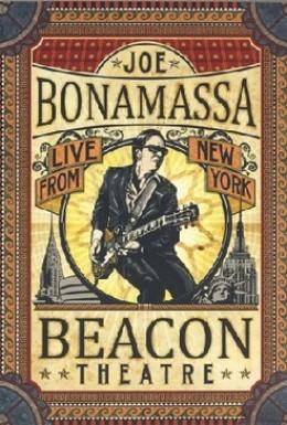 Постер фильма Joe Bonamassa: Live From New York Beacon Theatre (2012)