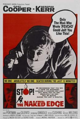 Постер фильма Обнаженное лезвие (1961)