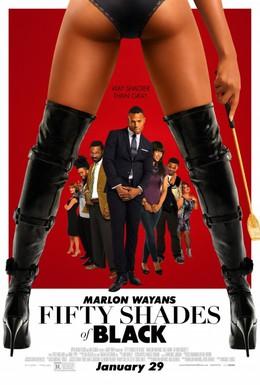 Постер фильма Пятьдесят оттенков черного (2016)