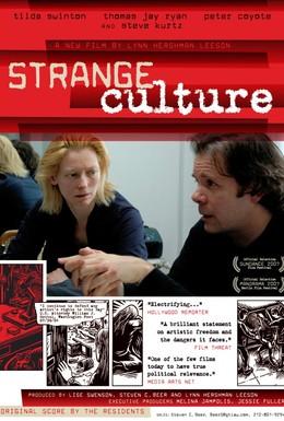 Постер фильма Strange Culture (2007)