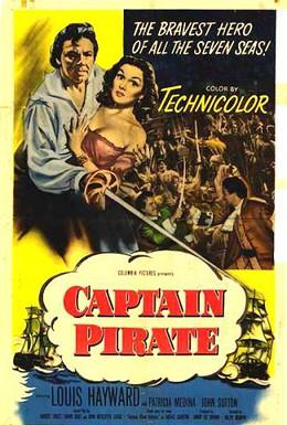 Постер фильма Капитан-пират (1952)