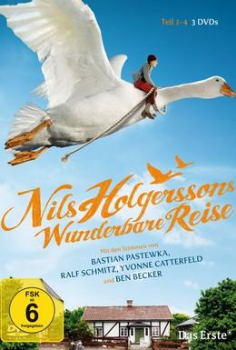 Постер фильма Чудесное путешествие Нильса с дикими гусями (2011)