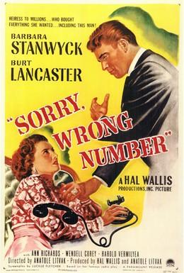 Постер фильма Извините, ошиблись номером (1948)