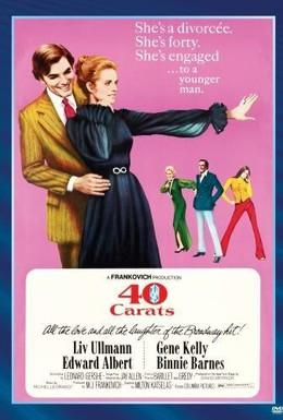 Постер фильма 40 карат (1973)