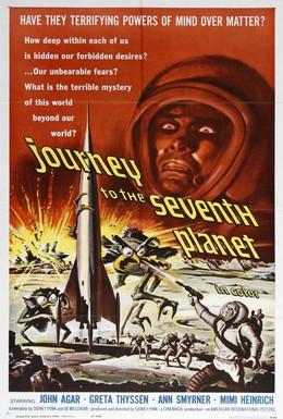 Постер фильма Путешествие к седьмой планете (1962)
