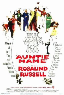 Постер фильма Тетушка Мэйм (1958)