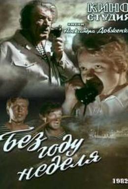 Постер фильма Без году неделя (1982)